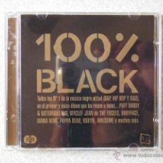 CDs de Música: 100 X 100 BLACK.....DOBLE...PEDIDO MINIMO 5€. Lote 39541276
