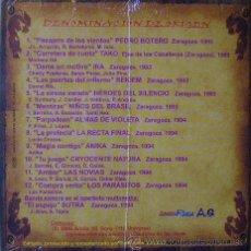 CDs de Música: HEROES DEL SILENCIO...LAS NOVIAS...NIÑOS DEL BRASIL.DENOMINACION DE ORIGEN..ROCK ARAGON.NUEVO.. Lote 173455935