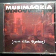 CDs de Música: MUSIMAQKIA NUEVA MÚSICA ESPAÑOLA. Lote 39596419