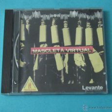 CDs de Música: MASCLETA VIRTUAL. AUTORES:LEOPOLDO AMIGO Y MIGUEL MOLINA. TECLADOS Y SECCIÓN RÍTMICA: PATRICIA PÉREZ. Lote 39600319