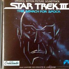 CDs de Música: B.S.O. STAR TREK III -MUSIC COMPOSED BY JAMES HORNER. Lote 39629323