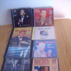 CDs de Música: SINATRA 8 CDS CON 160 TEMAS - CHEEK NIGHT DAY COME FLY WITH ME.... Lote 39631272