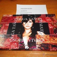 CDs de Música: OLGA TAÑON SOBREVIVIR CAJA PROMOCIONAL 2002 VHS ASI ES LA VIDA CD ALBUM + CD SINGLE POR TU AMOR. Lote 39645775