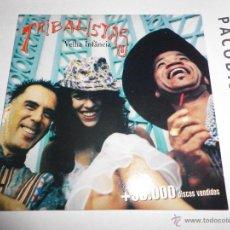CDs de Música: TRIBALISTAS VELHA INFANCIA CD SINGLE PROMOCIONAL CARLINHOS BROWN MARISA MONTE ARNALDO ANTUNES 1 TEMA. Lote 39649918
