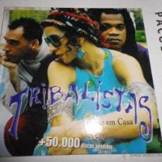 CDs de Música: TRIBALISTAS PASSE EM CASA CD SINGLE PROMOCIONAL CARLINHOS BROWN MARISA MONTE ARNALDO ANTUNES 1 TEMA. Lote 39650000