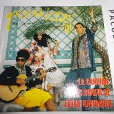 CDs de Música: TRIBALISTAS MARY CRISTO CD SINGLE PROMOCIONAL CARLINHOS BROWN MARISA MONTE ARNALDO ANTUNES 1 TEMA. Lote 39650064