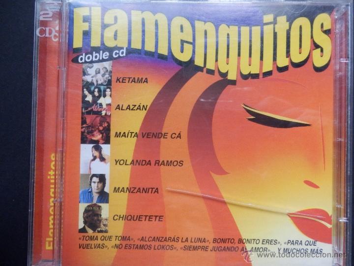 FLAMENQUITOS 2 CDS (Música - CD's Flamenco, Canción española y Cuplé)