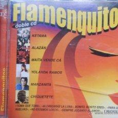CDs de Música: FLAMENQUITOS 2 CDS. Lote 39662989