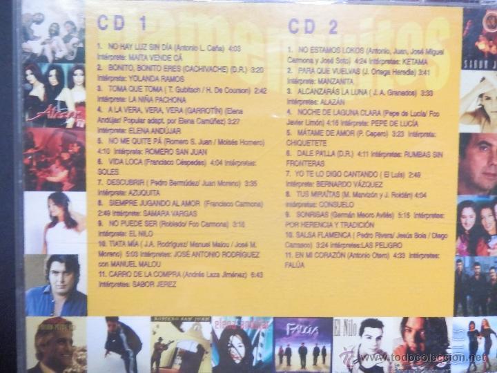 CDs de Música: FLAMENQUITOS 2 CDS - Foto 2 - 39662989