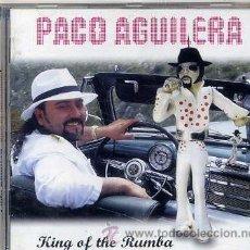 CDs de Música: PACO AGUILERA / KING OF THE RUMBA (CD 2003 - VER TEMAS). Lote 39682992