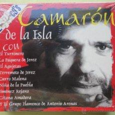 CDs de Música: 2 CDS. CAMARÓN DE LA ISLA. SIN ABRIR. Lote 39699089