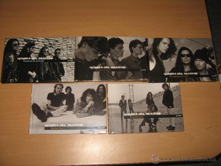 CDs de Música: COLECCION COMPLETA HEROES DEL SILENCIO Y BUNBURY 15 LIBROS CD + TESORO TOUR 2007 CON DVD PRECINTADOS - Foto 4 - 39710682