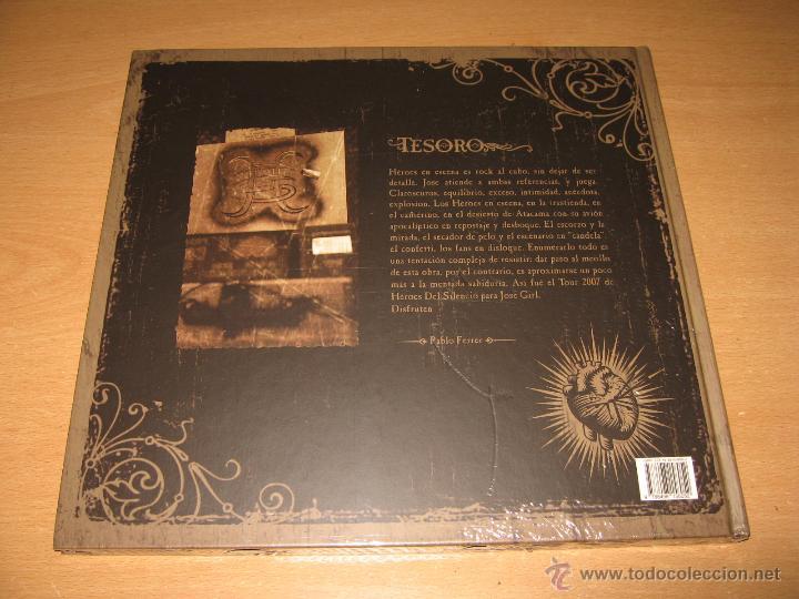 CDs de Música: COLECCION COMPLETA HEROES DEL SILENCIO Y BUNBURY 15 LIBROS CD + TESORO TOUR 2007 CON DVD PRECINTADOS - Foto 6 - 39710682