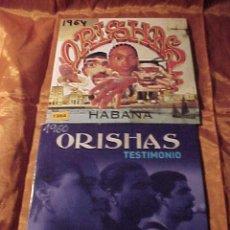 CDs de Música: ORISHAS. TESTIMONIO. HABANA. 2 CD PROMOCIONALES. . Lote 39717203