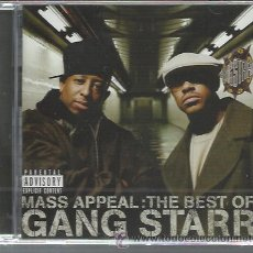CDs de Música: GANG STARR - MASS APPEAL: THE BEST OF - CD VIRGIN 2006 NUEVO - 2 BONUS TRACKS. Lote 45607173