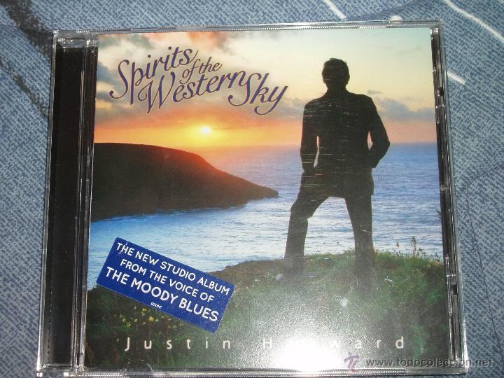 JUSTIN HAYWARD - LA VOZ DE THE MOODY BLUES - SPIRITS OF THE WESTERN SKY: CD DE 2013 + 1 REGALO (Música - CD's Pop)