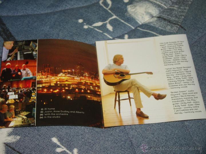 CDs de Música: JUSTIN HAYWARD - LA VOZ DE THE MOODY BLUES - SPIRITS OF THE WESTERN SKY: CD de 2013 + 1 REGALO - Foto 3 - 39758777