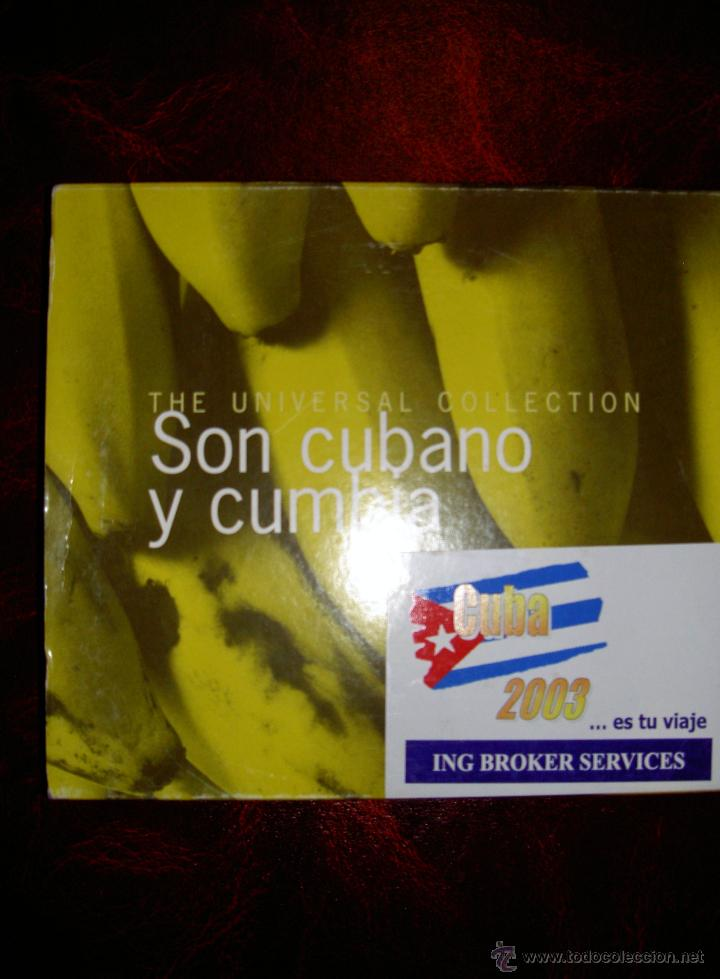 SON CUBANO Y CUMBIA THE UNIVERSAL COLLECTION 2 CD MUSICA CUBA (Música - CD's Latina)