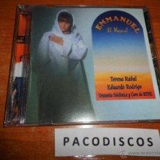 CDs de Música: TERESA RABAL EDUARDO RODRIGO EMMANUEL EL MUSICAL CD ALBUM ORQUESTA SINFONICA Y COROS RTVE 31 TEMAS. Lote 39836640