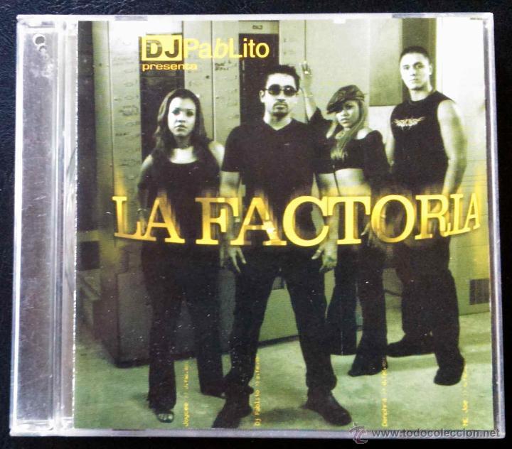 Dj Pablito La Factoria Cd Buy Cd S Of Disco And Dance Music At Todocoleccion 39841622