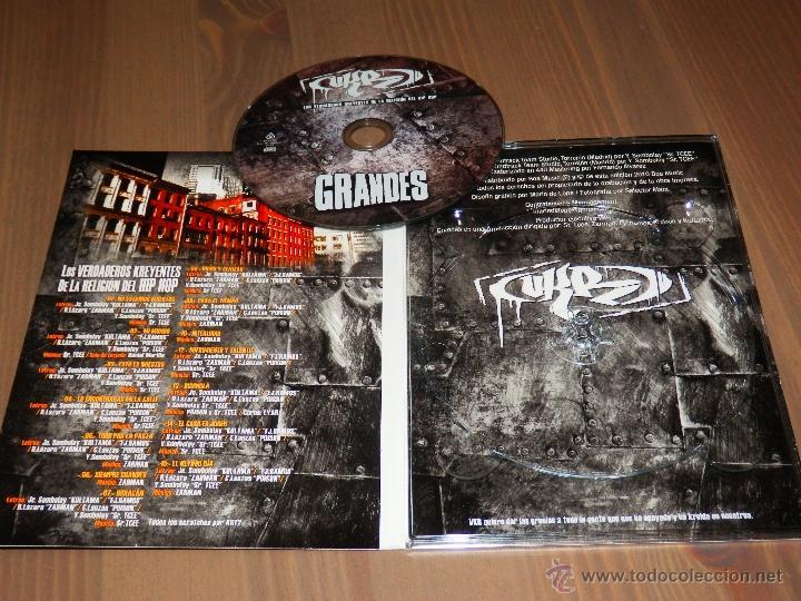 Music CDs: VKR GRANDES LOS VERDADEROS KREYENTES DE LA RELIGION DEL HIP HOP ESPAÑOL DIGIPAK CD PRECINTADO ZB - Foto 2 - 39868048