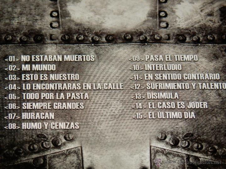Musik-CDs: VKR GRANDES LOS VERDADEROS KREYENTES DE LA RELIGION DEL HIP HOP ESPAÑOL DIGIPAK CD PRECINTADO ZB - Foto 4 - 39868048