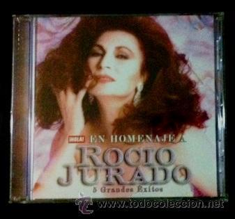 ROCÍO JURADO - CD - EDICIÓN DE LA REVISTA HOLA (Música - CD's Flamenco, Canción española y Cuplé)