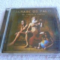 CDs de Música: JARABE DE PALO DE VUELTA Y VUELTA - 2001 - VIRGIN RECORDS ESPAÑA. Lote 39891419