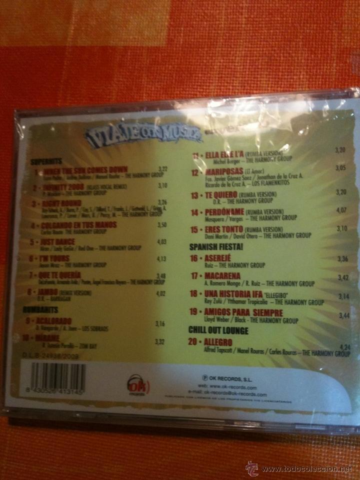 CDs de Música: CD VIAJE CON MÚSICA EN VERANO - 20 ÉXITOS - Foto 2 - 39915453