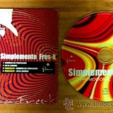 CDs de Música: LA FRES-KA - SIMPLEMENTE FRES-K - CD SINGLE - DOS TEMAS + DOS VIDEO CLIPS. Lote 39931864