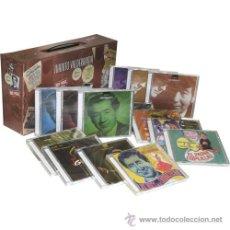 CDs de Música: ESTUCHE EN FORMA DE MALETA DEL EMIGRANTE , JUANITO VALDERRAMA . 9CDS Y 5 DVDS , A ESTRENAR AÑO 2007. Lote 39962239