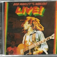 CDs de Música: CD BOB MARLEY AND THE WAILERS : LIVE ! . Lote 39963944