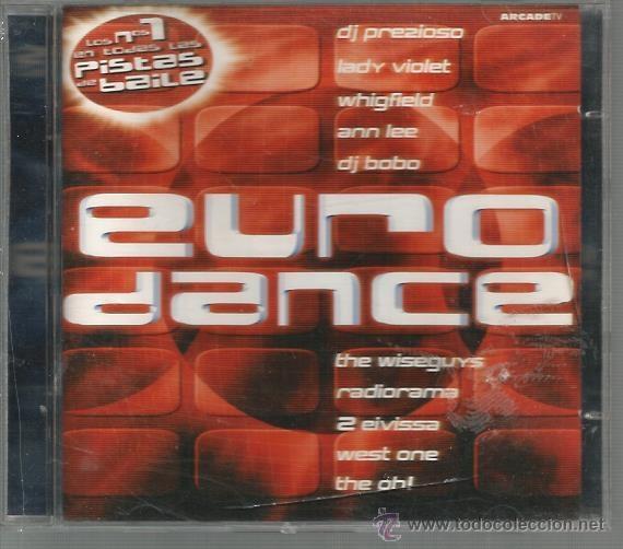 DOBLE CD EURODANCE : LADY VIOLET, RADIORAMA, ENERJAY, DJ BOBO, EIVISSA, MASIC DREAMS, ETC (Música - CD's Disco y Dance)