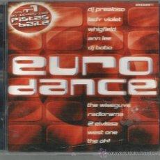 CDs de Música: DOBLE CD EURODANCE : LADY VIOLET, RADIORAMA, ENERJAY, DJ BOBO, EIVISSA, MASIC DREAMS, ETC . Lote 39972541