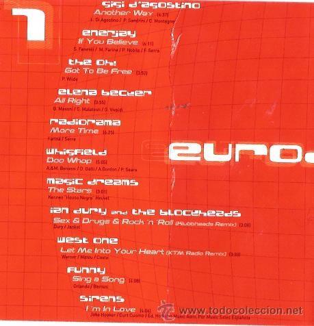 CDs de Música: DOBLE CD EURODANCE : LADY VIOLET, RADIORAMA, ENERJAY, DJ BOBO, EIVISSA, MASIC DREAMS, ETC - Foto 2 - 39972541