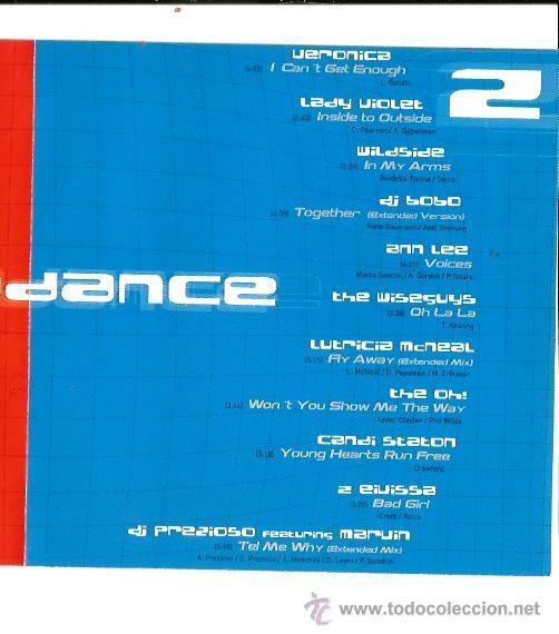 CDs de Música: DOBLE CD EURODANCE : LADY VIOLET, RADIORAMA, ENERJAY, DJ BOBO, EIVISSA, MASIC DREAMS, ETC - Foto 3 - 39972541