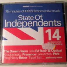 CDs de Música: STATE OF INDEPENDENTS - CD- MUZIK. Lote 39976044