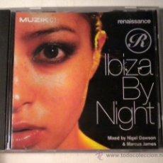 CDs de Música: IBIZA BY NIGHT - CD - MUZIK. Lote 39976315