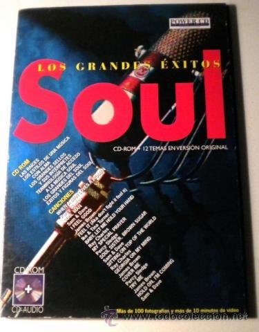 LOS GRANDES EXITOS - SOUL -POWER CD - VERSIONES ORIGINALES - HISTORIAS Y MÁS DE 100 FOTOGRÁFIAS (Música - CD's Jazz, Blues, Soul y Gospel)