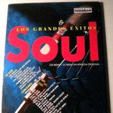 CDs de Música: LOS GRANDES EXITOS - SOUL -POWER CD - VERSIONES ORIGINALES - HISTORIAS Y MÁS DE 100 FOTOGRÁFIAS. Lote 39979365