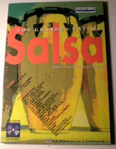 LOS GRANDES EXITOS - SALSA -POWER CD - VERSIONES ORIGINALES - HISTORIAS Y MÁS DE 100 FOTOGRÁFIAS (Música - CD's Latina)