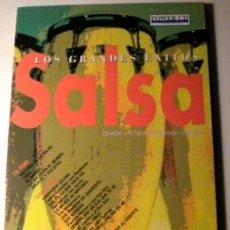 CDs de Música: LOS GRANDES EXITOS - SALSA -POWER CD - VERSIONES ORIGINALES - HISTORIAS Y MÁS DE 100 FOTOGRÁFIAS. Lote 39979376