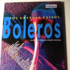CDs de Música: LOS GRANDES EXITOS - BOLEROS -POWER CD - VERSIONES ORIGINALES - HISTORIAS Y MÁS DE 100 FOTOGRÁFIAS. Lote 39979398