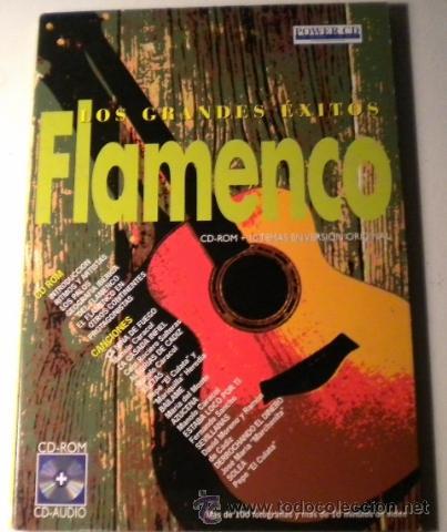 LOS GRANDES EXITOS - FLAMENCO -POWER CD - VERSIONES ORIGINALES - HISTORIAS Y MÁS DE 100 FOTOGRÁFIAS (Música - CD's Flamenco, Canción española y Cuplé)