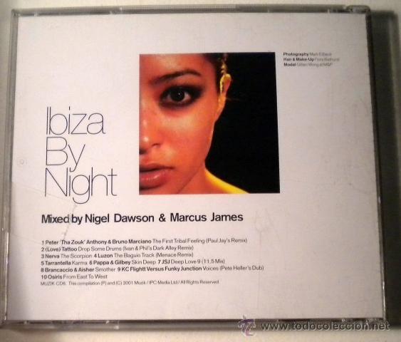 CDs de Música: Ibiza by night - CD - Muzik - Foto 2 - 39976315