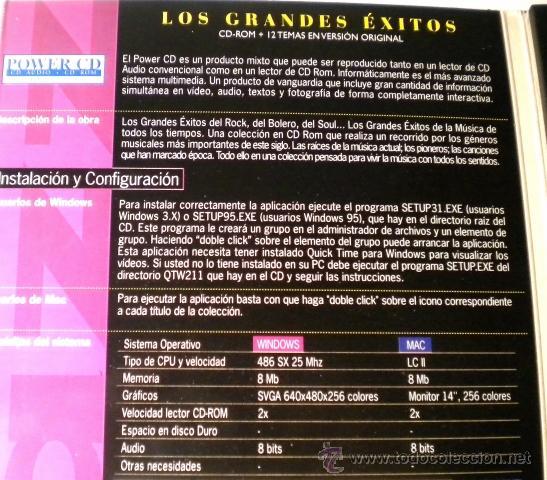 CDs de Música: Los Grandes Exitos - SOUL -Power CD - versiones originales - historias y más de 100 fotográfias - Foto 4 - 39979365