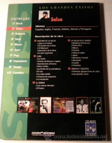 CDs de Música: Los Grandes Exitos - SALSA -Power CD - versiones originales - historias y más de 100 fotográfias - Foto 3 - 39979376