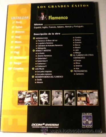 CDs de Música: Los Grandes Exitos - FLAMENCO -Power CD - versiones originales - historias y más de 100 fotográfias - Foto 2 - 39979406