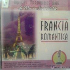 CDs de Música: CD MUSICA ROMANTICA FRANCESA DE LOS AÑOS 60. Lote 40008415