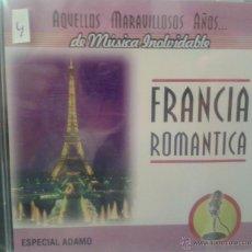 CDs de Música: CD MUSICA FRANCESA ROMANTICA DE LOS AÑOS 60. Lote 40008421